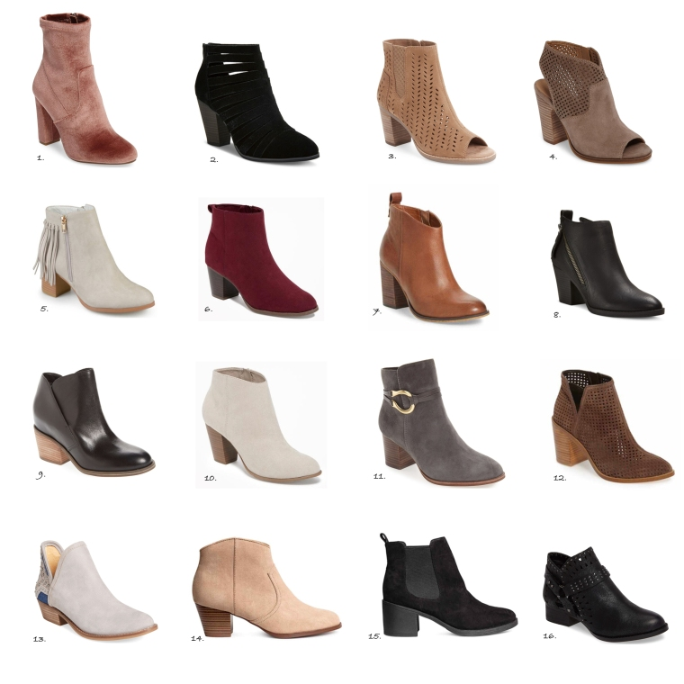 The cutest ankle boots- All under $100!