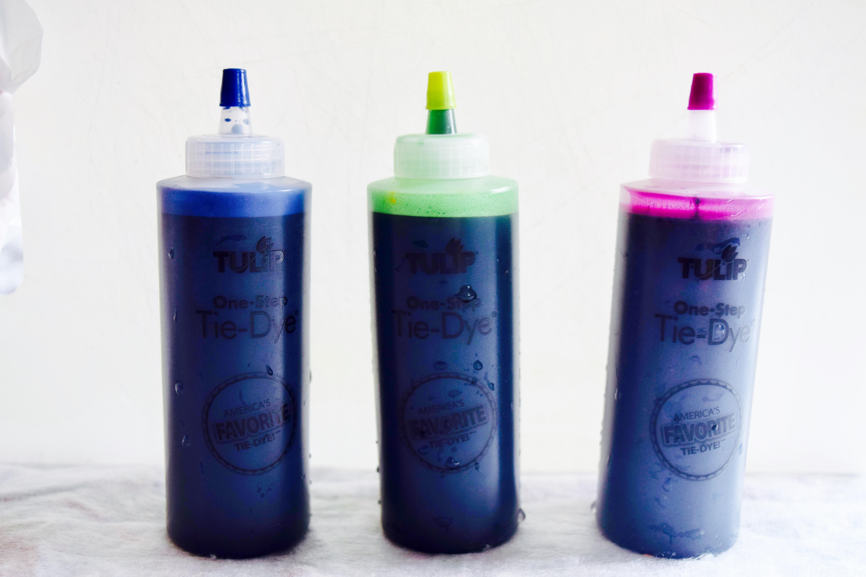 Our tie-dye colour palette!