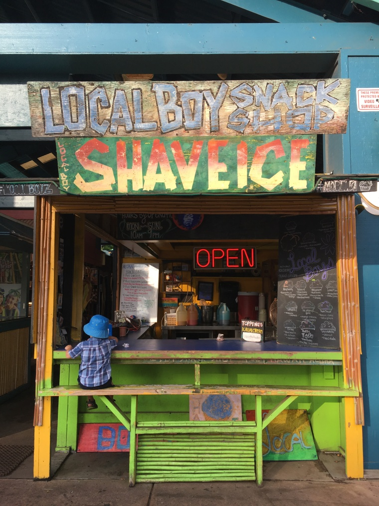 Local Boys- Our favourite stop for Shave Ice