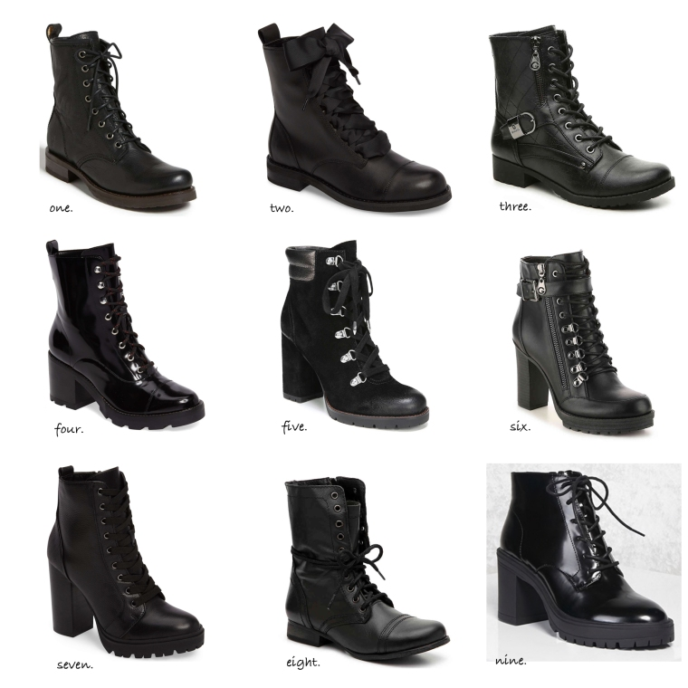 laceup utility boots