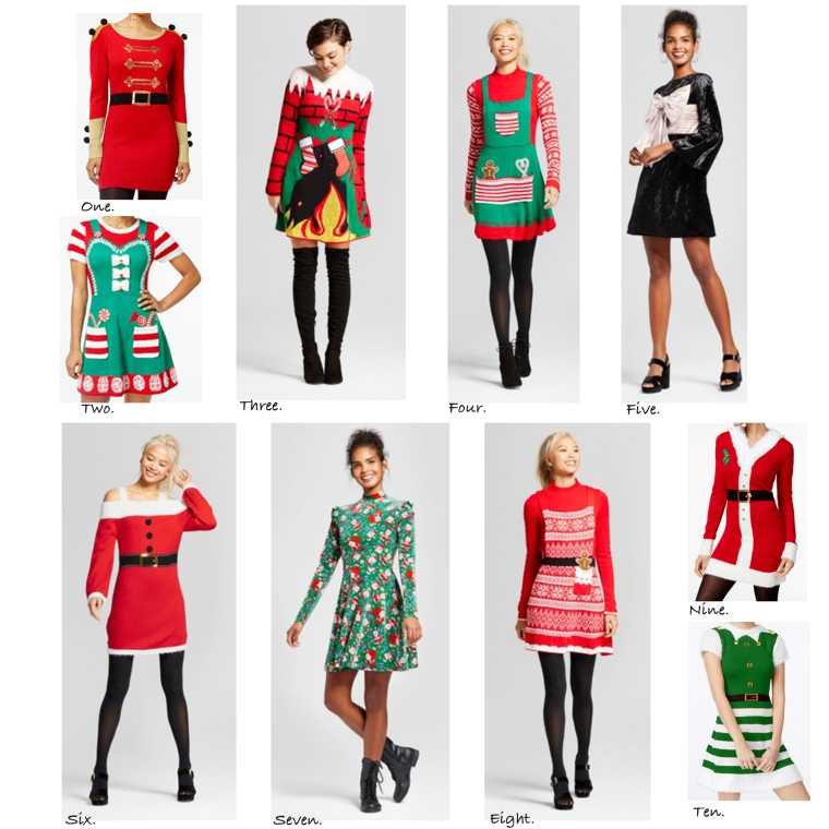 Fun Christmas Dresses