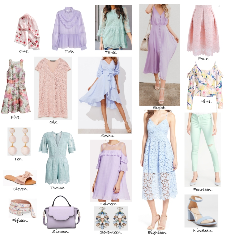 Pretty Pastel Clothing