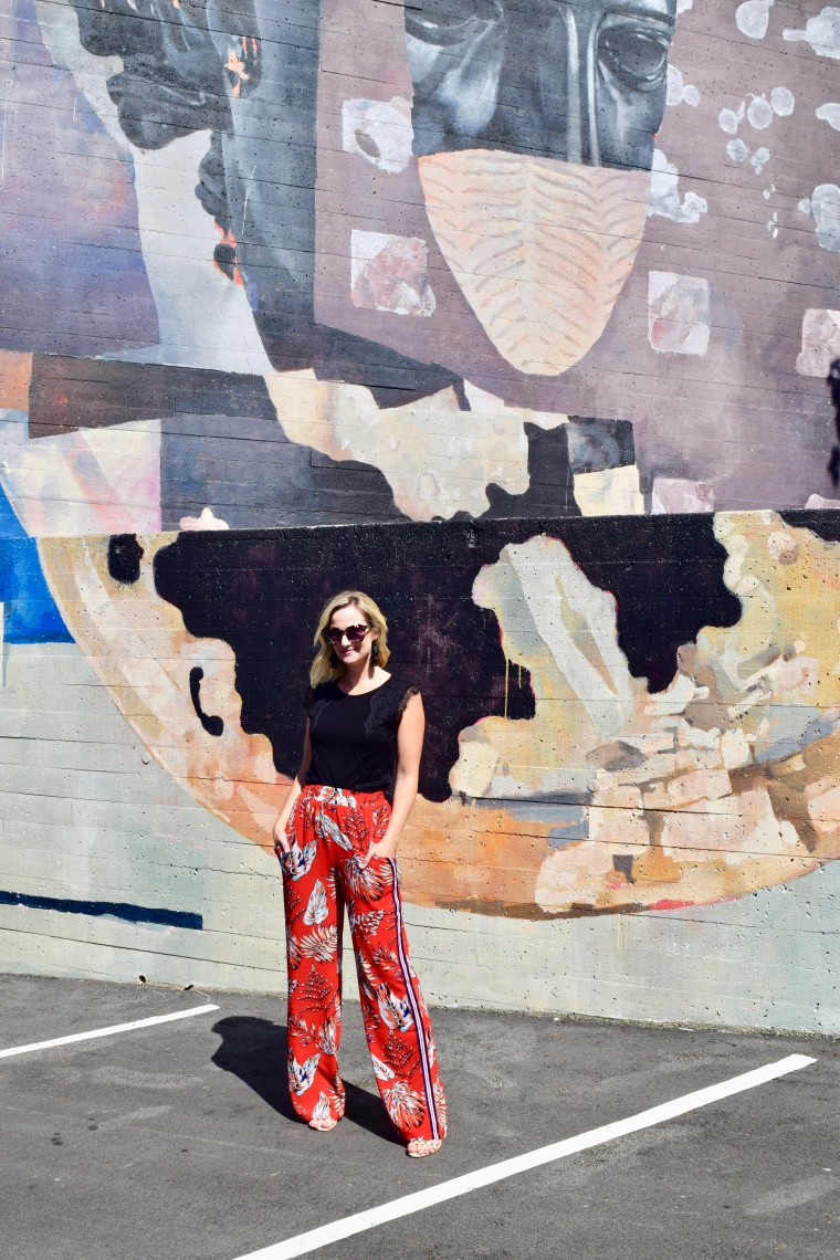 Red Forever 21 Pants
