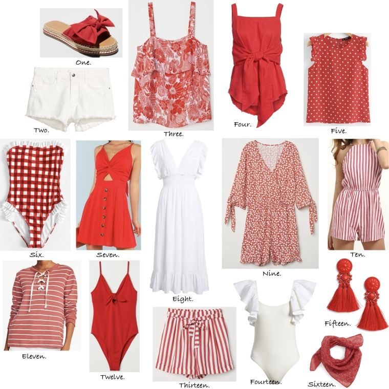Canada Day outfits