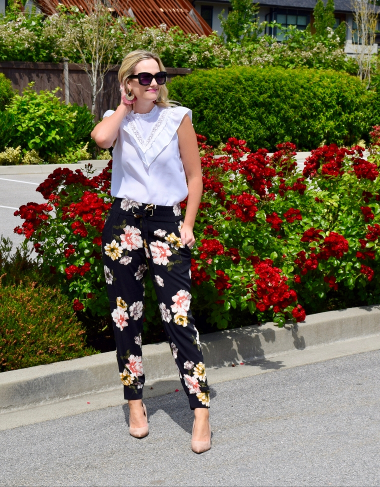 The Best Floral Joggers/ Pants