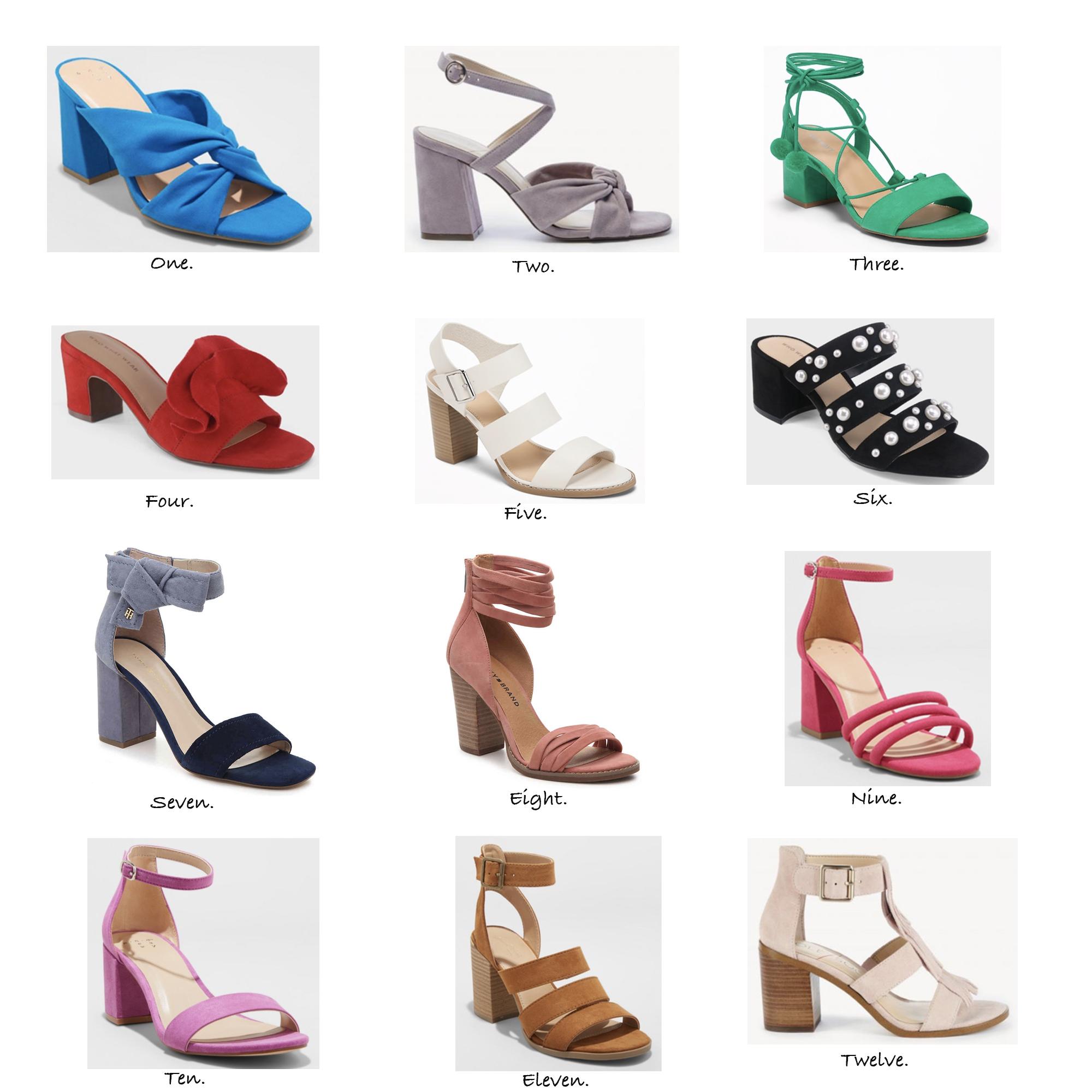 The Best Block Heels